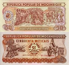 Mozambique 50 Meticais Banknote World Money 1986 Note Africa Bill p129b Currency