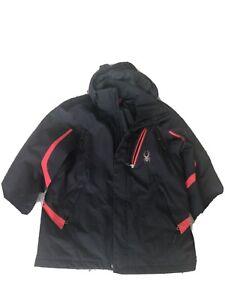 153010 001-Black Mens L Msrp $225 Spyder Men/'s Anti-Panic Shell Jacket NWT