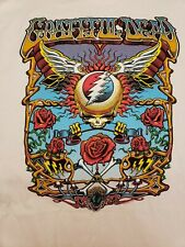 """Brand New Liquid Blue Grateful Dead """"Flying Space Your Face"""" T-shirt Size L"""