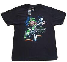 Official Harley Davidson T-Shirt | Dublin Ireland Leprechaun. M - 3XL Biker gift
