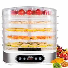 Zociko Déshydrateur de Nourriture Déshydrateur de Fruits et Légumes 500W