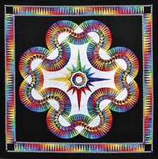 Aurora Paper Pieced Quilt Pattern Be Colourful Jacqueline de Jonge DIY Quilting