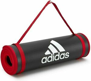 Large Yoga Exercise Mat Thick Gym Training Fitness Adidas Carry Strap Bag 183 CM