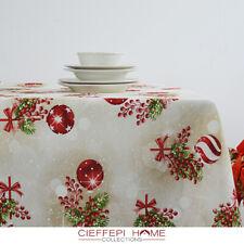 THUN Tovaglia Natale Natalizia - varie misure - Cieffepi Home Collections