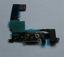 OEM GENUINE Black Headphone Audio Dock Charging USB Port Flex iPhone 5S