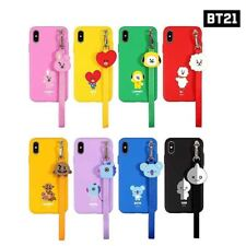 BTS BT21 Official Authentic Goods Strap Phone Case Provide tracking number