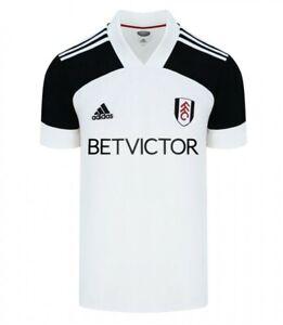 Fulham Football Club 20/21 Adult Home Shirt FI2786 White
