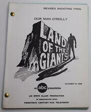Land of the Giants * 1969 Original TV Show Script * Sci Fi, Season 2 Episode 15