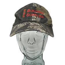 EBS Building Supplies Baseball Cap Correct Deck Camo Mossy Oak OSFM Snapback Hat