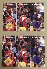 Michael Jordan 1993-94 Hoops League Leaders #283 (x2) Near Mint Read