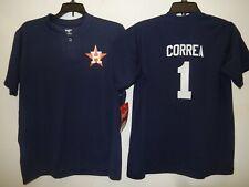 0213 Boys Youth Houston Astros CARLOS CORREA 2 Button Baseball JERSEY New