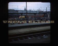Original Train Slide Munich Germany Geneva Switzerland Railroad 1975 Kodachrome