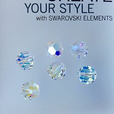 Genuine Swarovski® Crystal #5000 Round Beads - Size 12mm - CRYSTAL AB - 1 PC.