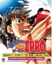 DVD Japan Anime Hajime No Ippo Season 1-3 Complete Vol 1-127 End+Movie+OVA