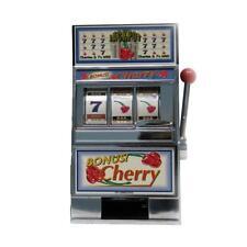 Casino Slot Machine Coin Piggy Bank Toy Fruit Jackpot Las Vegas Mechanical Fun