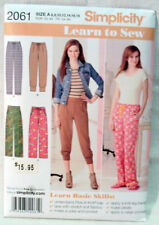 Simplicity 2061 LEARN TO SEW PATTERN Size A 6-18 NEW IN PACKET