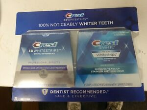 Crest 3D Whitestrips Professional Effects Teeth Whitening Kit, 40 + 8 Strips
