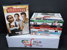 Lot of 8 Comedy Dvd Movies The Hangover School of rock Nacho Libre