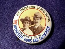 Original 1910 Pinback of THE TOPPERWEINS