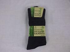 6 Pairs Non Elastic Bamboo Socks - Various Colours Size 6-11 UK Post