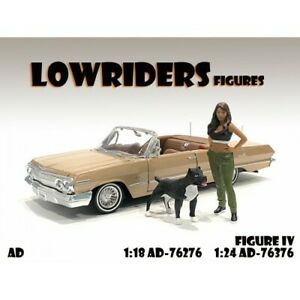 Lowriders Figure #4 - two Figures - 1:24 Scale - American Diorama