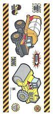 Tonka Cement Mixer Roller Borders Signs Boys Toys Sandylion LRG Stickers