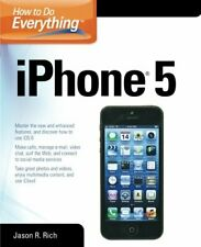 How to Do Everything: iPhone 5 by Rich, Jason R. Book The Cheap Fast Free Post