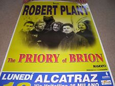 Robert Plant - Gig Poster Milan 2000 RARE EXCELLENT Led Zeppelin Priory Brion