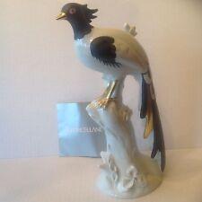 Italian Porcelain Pheasant MANIFATTURA PORCELLANE ARTISTICHE Handpainted w COA