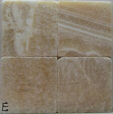 New listing Set of 4 - Handmade Natural Stone Ceramic Tile Drink Coasters - Plain 2 - B