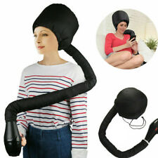 Pro Bonnet Dryer Hair Drying Cap Barber Styling Curling Hood Portable Adjustable