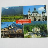 Germany Picture Post Card Oberammergau Ettal-Linderhof Multiple Scenes Vintage