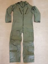New Genuine RAF Flight Pilot Suit MK15 Aircrew Coverall Sage Green Size 1