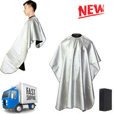 Professional Salon Hair Cutting Nylon Cape Barber Hairdressing Gown W/sponge Set