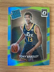 TONY BRADLEY 2017-18 Panini Optic Lime Holo Prizm Refractor /175 RC SP #173 PWE