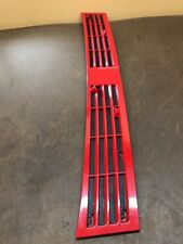 84-01 Jeep Cherokee Sport  XJ Wagoneer Comanche MJ COWL GRILLE OEM FLAME RED