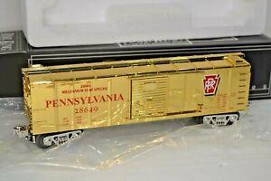 RARE 30-7446 PRR Gold Plated Y2K Year 2000 Millennium MTH Railking Box Car