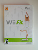 Wii Fit Game Only in Case! Nintendo Wii