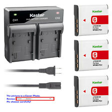 Kastar Battery AC Rapid Charger for Sony NP-BG1 NP-FG1 Sony Cyber-shot DSC-W230