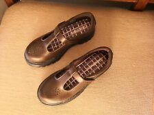 New Skechers Light Scouts Campus Crush Mary Janes 89494L Brown girls size 1.5