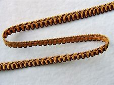 """10 Yards of Decorative 1/2"""" Scroll Style Braid Gimp Trim ~ CHOICE of COLORS"""