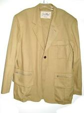 JC DE CASTELBAJAC SAFARI JACKET MODEL DEPOSE MADE IN ITALY SIZE L Vintage 1980s
