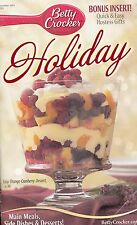 HOLIDAY BETTY CROCKER COOKBOOK DECEMBER 2003 #203 HOT BUTTERED RUM CHEESECAKE