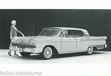 Ford Fairlane Tudor Hardtop 1959 Original Press Photograph Black White