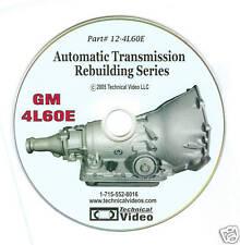 """GM 4L60E, 4L60-E, TRANSMISSION REBUILDING """"DVD""""*"""