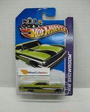 Custom '64 Galaxie 500 * Kmart only green #113 * Hot Wheels 2012 * W206