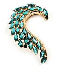 Ear Cuff Earring Wrap Women Jewelry Gothic Style Turquoise Tear Drop New