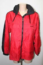 KWAY AIR K WAY CIRE NYLON COUPE VENT PARKA ROUGE TAILLE S