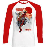 Monkey Magic - Mens Funny Retro TV Programme Show Long Sleeve T-Shirt