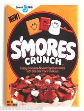 Smores Crunch FRIDGE MAGNET (2.5 x 3.5 inches) cereal box chocolate marshmallow
